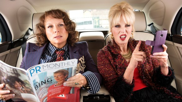 Nutty Bites: Absolutely Fabulous the Movie – Dinner and a Movie – Dog Days of Podcasting 2017