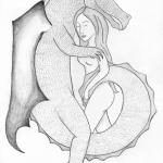 A Dragon and his Princess