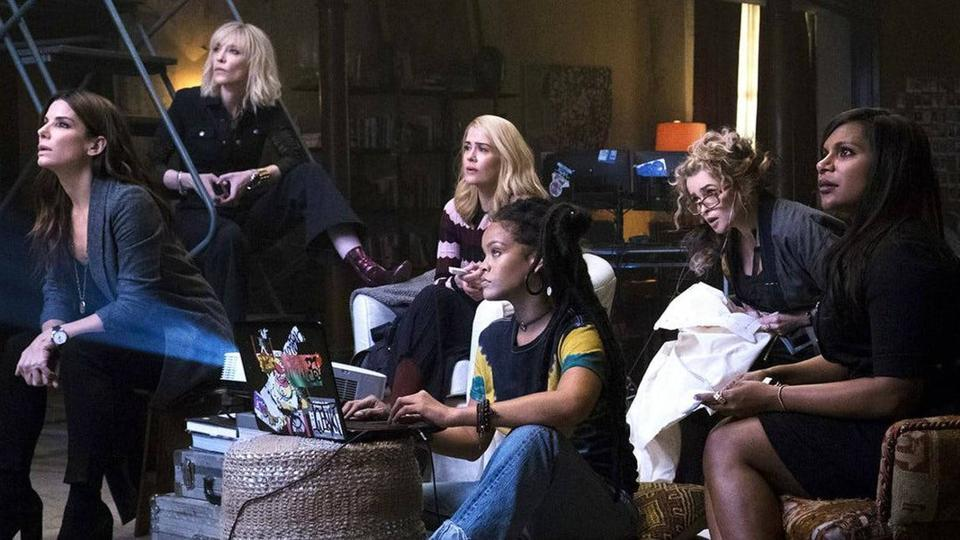 Nutty Bites: Ocean's 8 – Dinner and a Movie – Dog Days of