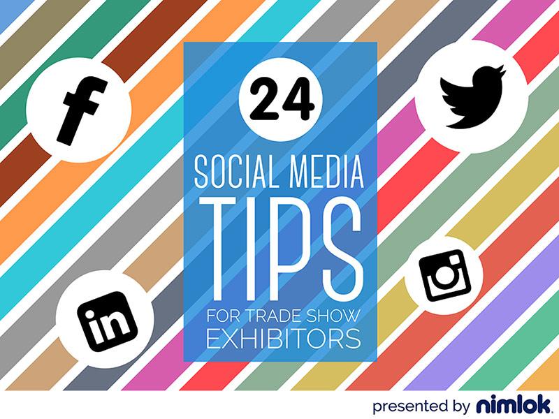 social media tips for trade show exhibitors