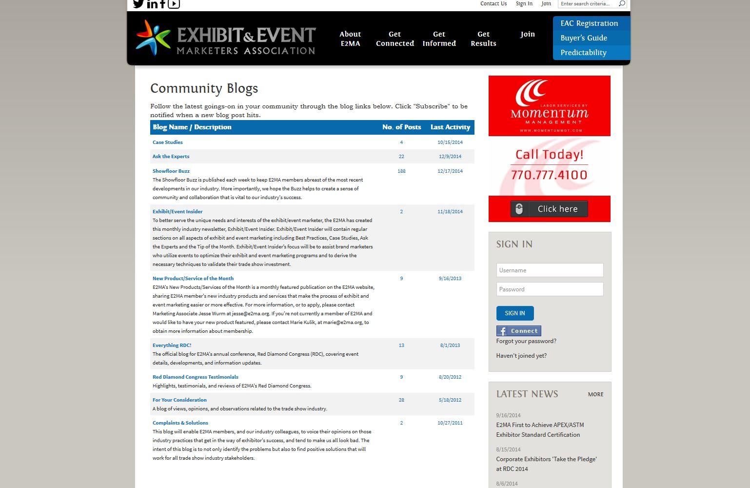 Exhibit And Event