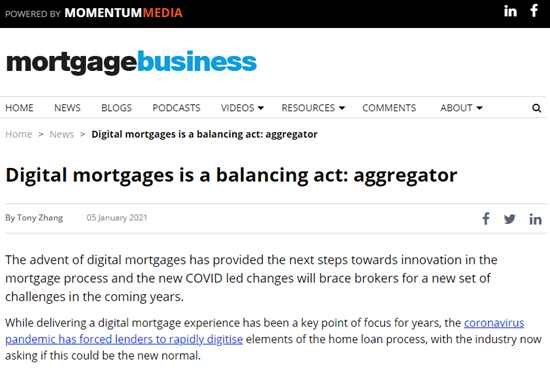 Digital mortgages is a balancing act