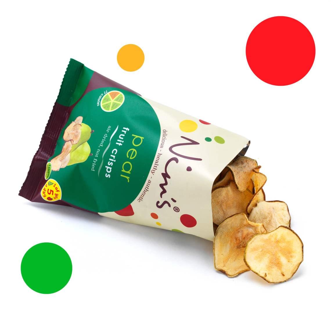 Nims Fruit Crisps - Pear Fruit Crisps