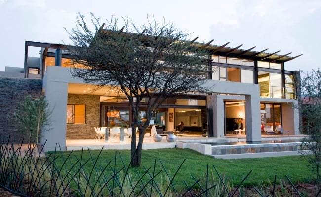 A Tasteful Modern Home In Johannesburg