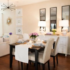 Living Room Idea Images Modern Curtains 20 Small Dining Ideas On A Budget