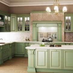 Green Kitchen Cabinets Modern Cabinet Hardware 20 Gorgeous Design Ideas