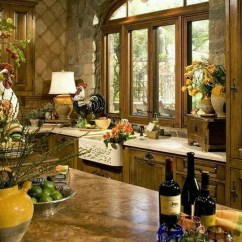 Tuscan Style Kitchen Large Window Treatments 20 Gorgeous Designs With Decor