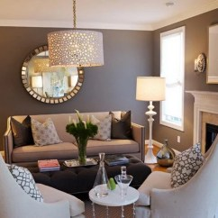 Lighting For Living Rooms Small Room Design Images 20 Beautiful Brown Ideas Image Via Www Decolover Net