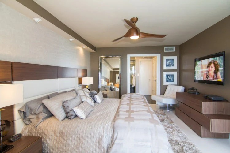 ... 20 Beautiful Bedrooms With Modern Ceiling Fans ...