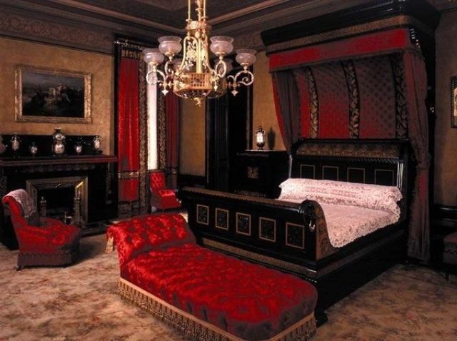 20 red bedroom ideas