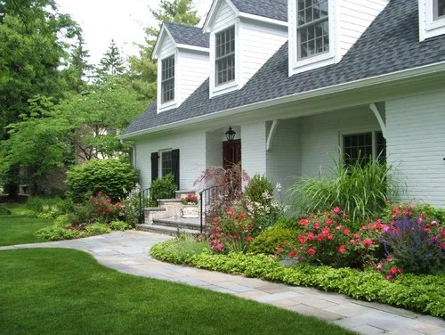 simple effective front yard