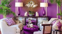20 Beautiful Purple Living Room Ideas