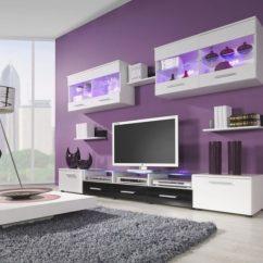 Purple Living Rooms Bradington Truffle Room Set 20 Beautiful Ideas Image Via Www Homedit Com
