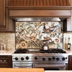 Kitchen Mosaic Glass Tiles For 20 Backsplash Ideas The Image Via Www Hgtv Com