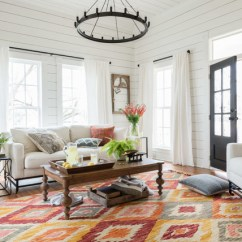 Living Rooms Decorated By Joanna Gaines Coffee Table In Room 20 Magnolia Home For Inspiration If You Want To See More The Market Here Are