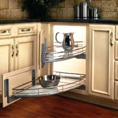 Kitchen Corner Cabinet Granite Sinks 20 Different Types Of Ideas For The Like Lazy Susan Swinging Pullouts Are A Great Way To Optimize Oie Shaped S Space Where You Won T Loose Things In Back