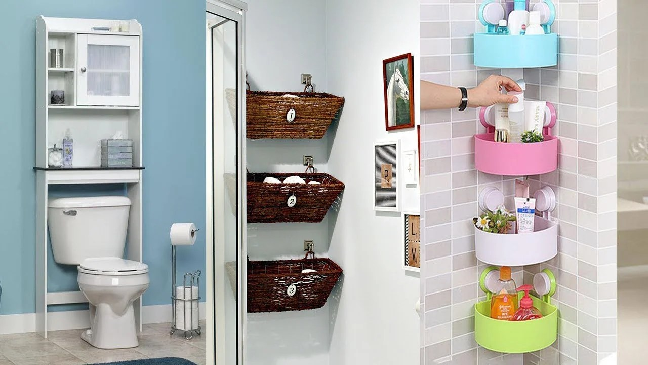 20 Small Bathrooms With Creative Storage Ideas