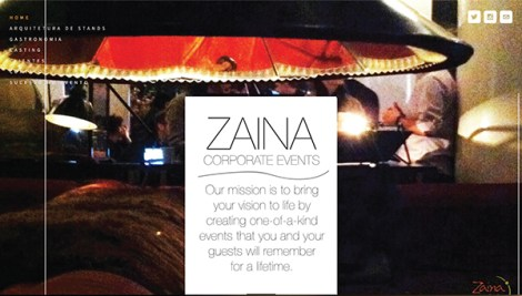 zaina website