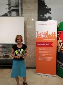 Lesung während der langen nacht der Museen im Polizeimuseeum- für Lesewelt Berlin e.V.