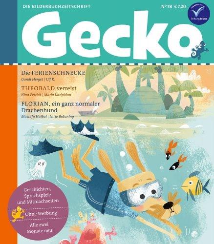 Gecko Nr. 78 Titelgeschichte Theobald verreist von Nina Petrick illustriert von Maria Karipidou