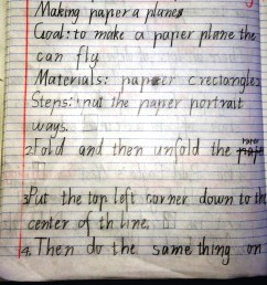 Procedural Text: The fun genre… How to make a paper plane!   Nina Davis:  Teaching \u0026 Learning in Australia [ 1850 x 1912 Pixel ]