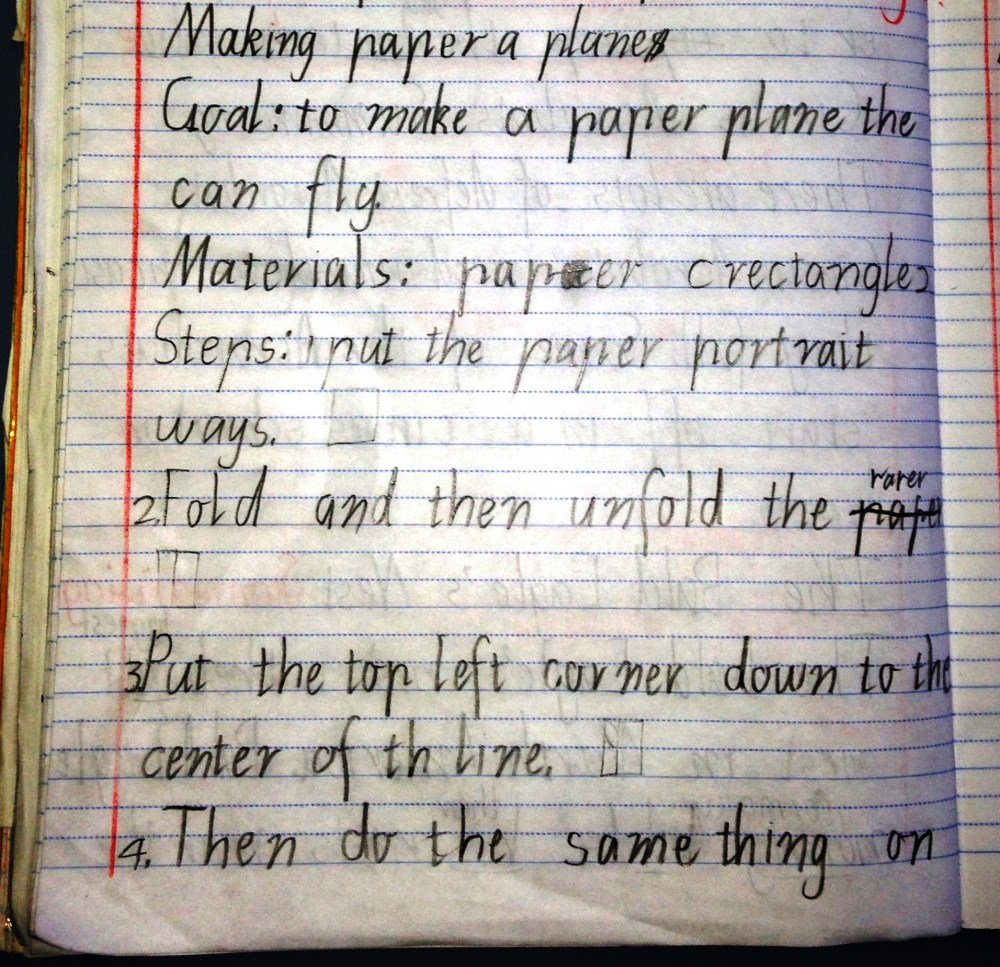 medium resolution of Procedural Text: The fun genre… How to make a paper plane!   Nina Davis:  Teaching \u0026 Learning in Australia