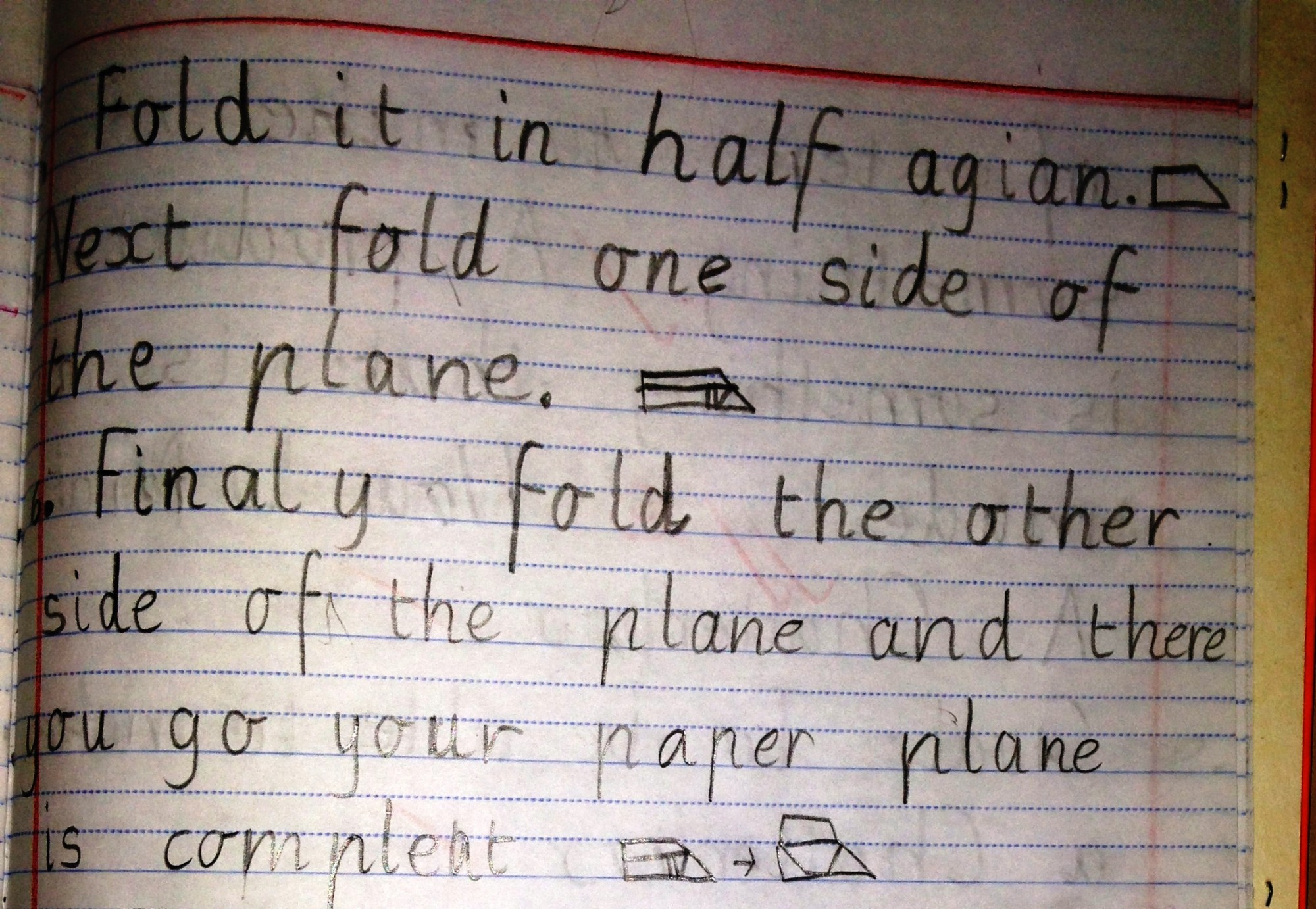 hight resolution of Procedural Text: The fun genre… How to make a paper plane!   Nina Davis:  Teaching \u0026 Learning in Australia
