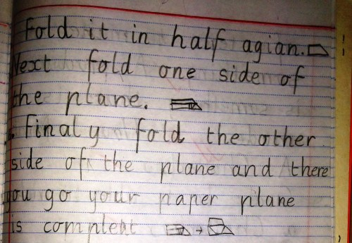 small resolution of Procedural Text: The fun genre… How to make a paper plane!   Nina Davis:  Teaching \u0026 Learning in Australia