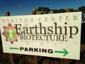 Earthship sign TS