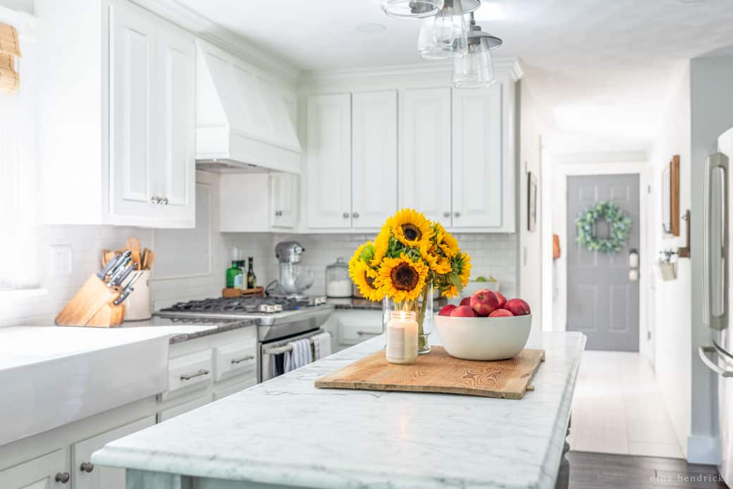 Simple Early Fall Kitchen Decorating Ideas