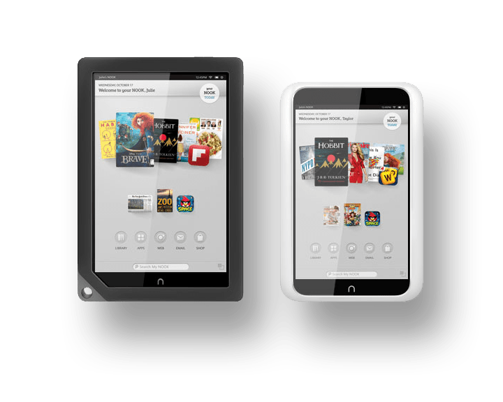 Barnes & Noble Nook Media Tablets: Nook HD+ and Nook HD