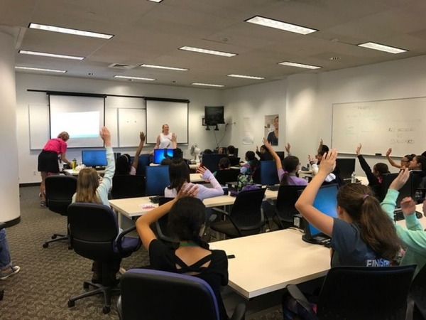 Design Thinking Workshop at AT&T Girls in Future Technologies Day