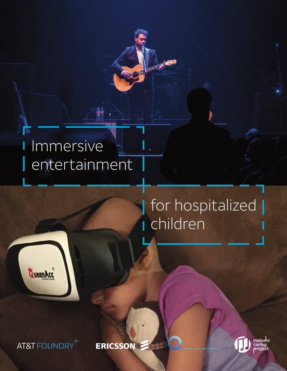 Immersive Entertainment for Hospitalized Kids Poster