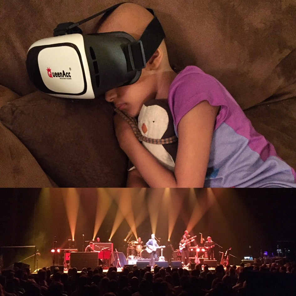 VR Virtual Reality 360 Video Amos Lee Concert Experience for Maya