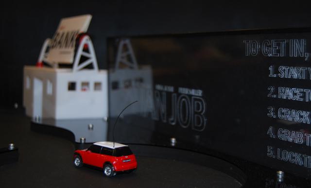Italian Job Movie Robotic Arcade Game up close