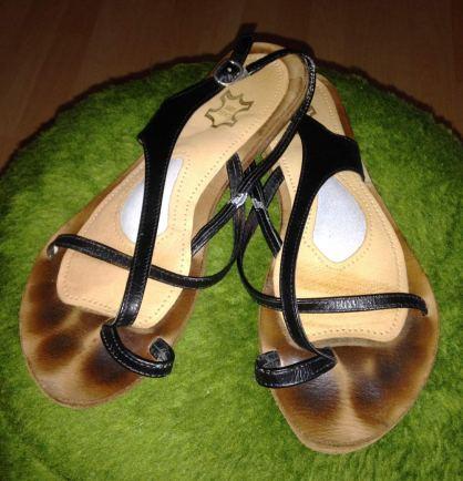 Sandale vorher