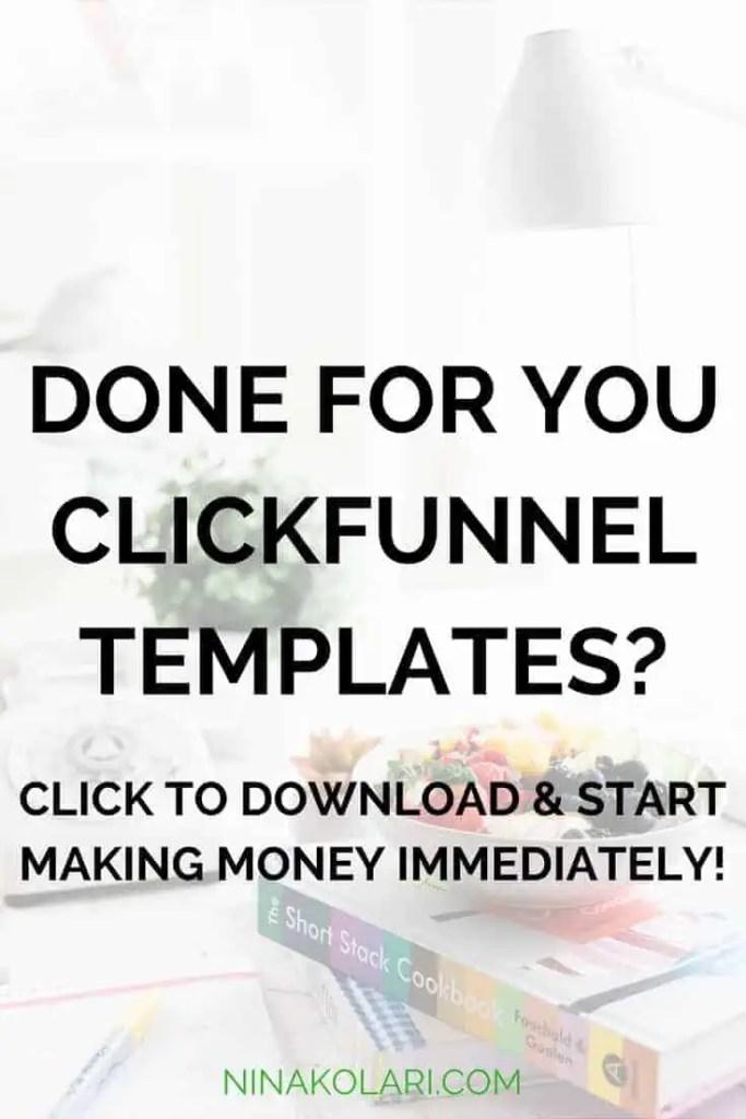 clickfunnels template