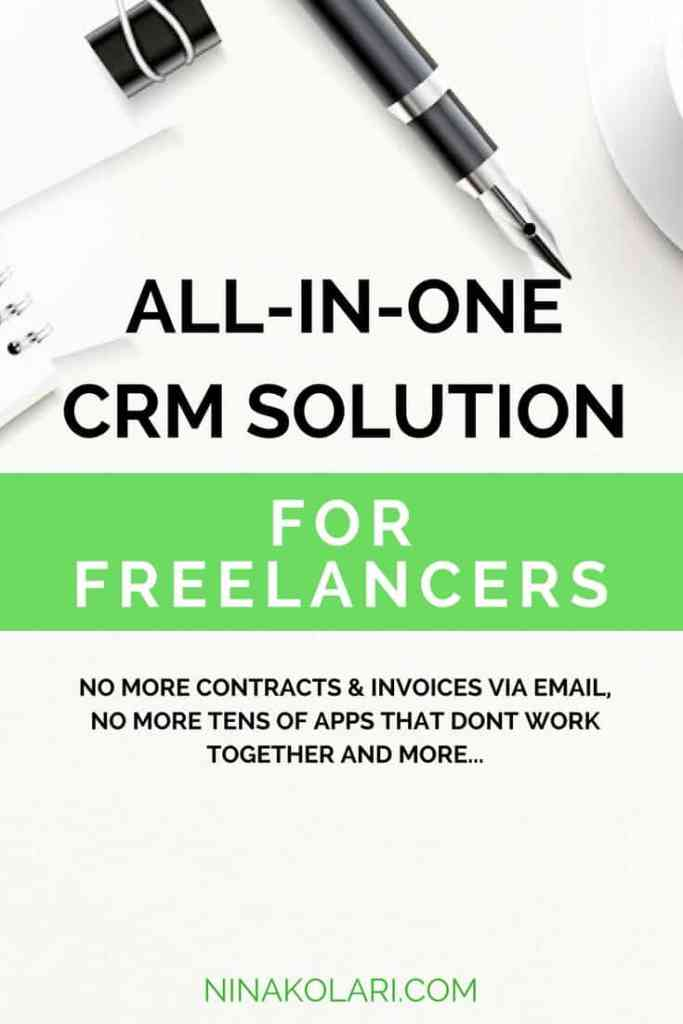 freelancer crm dubsado