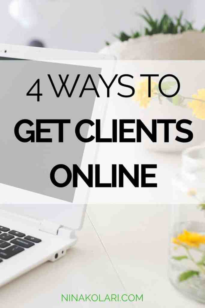 how to get clients online