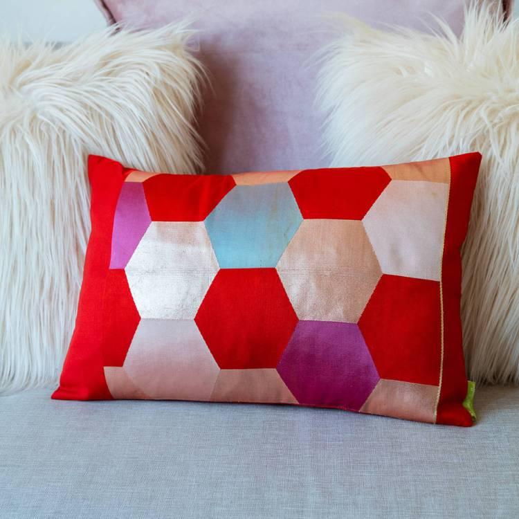 original_kimono-cushion-pink-red-hexagon-design.jpg