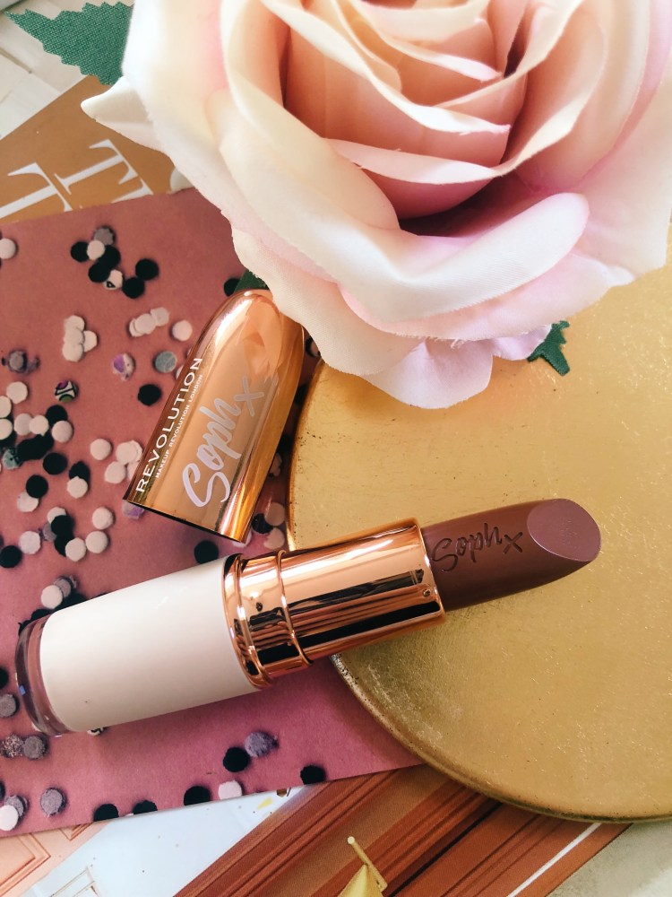 Soph x Revolution Fudge Lipstick Review, Swatches & Photos