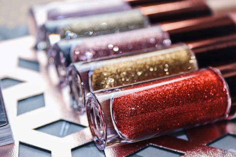 Makeup Revolution Eye Glisten: Foil & Liquid Eyeshadows Review, Swatches & Photos