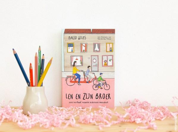 kinderboek Len en zijn broer - Maud Wilms & ninamaakt