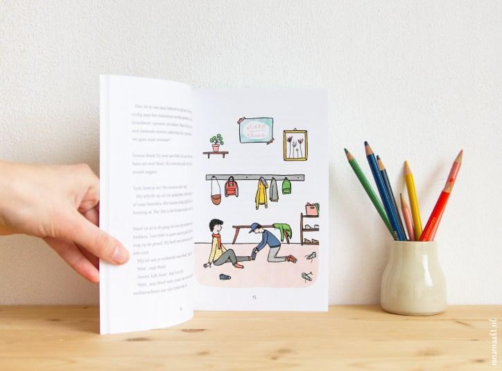 children's book Len en zijn broer - Maud Wilms & ninamaakt