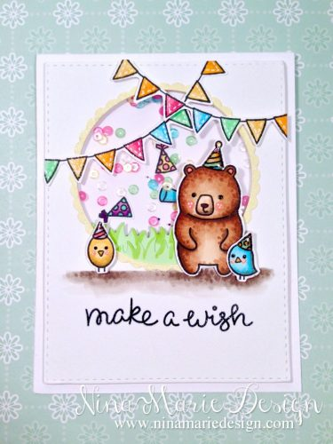 Party Animals Shaker Card_2
