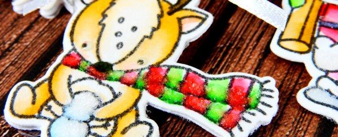 Kid Friendly Christmas Ornaments Nina-Marie Design