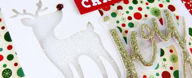 Glitter Die Cut Shaker + Simon's Holiday Card Kit Nina-Marie Design