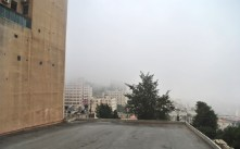 Ramallah morning fog
