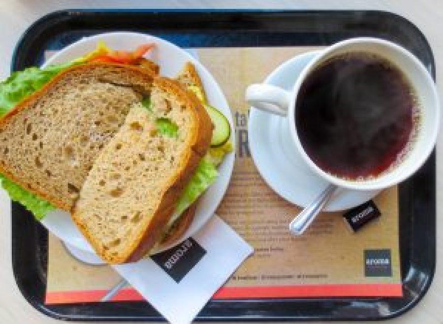Breakfast at Aroma