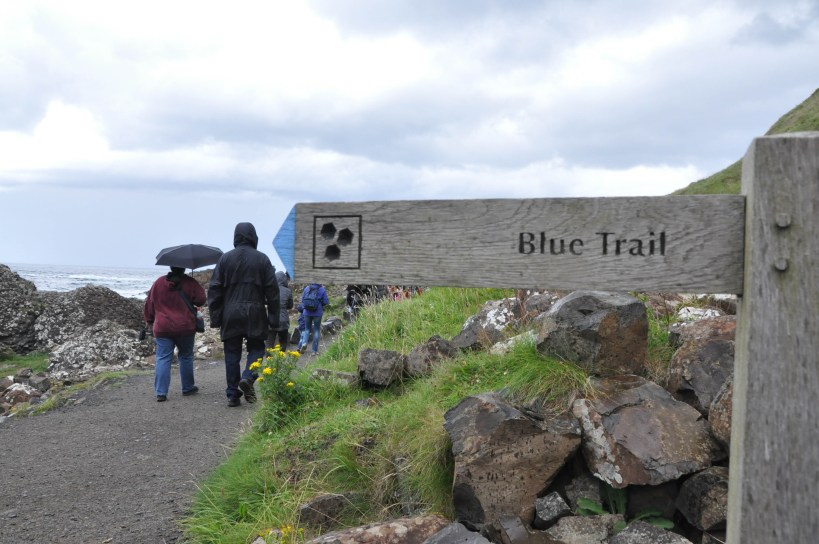 trail to giant's causeway